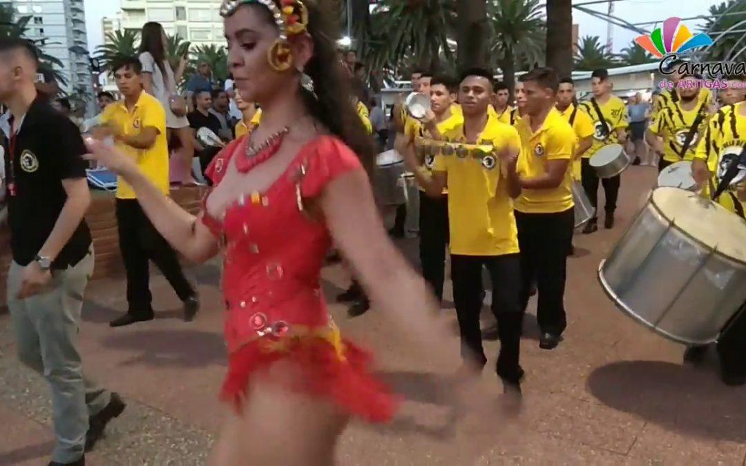 Presentación del Carnaval de Artigas 2018 en Punta del Este